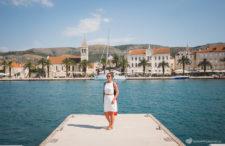 Dalmacja środkowa od Trogiru po Split + nasz dom z widokiem na Riwierę Kasztelańską